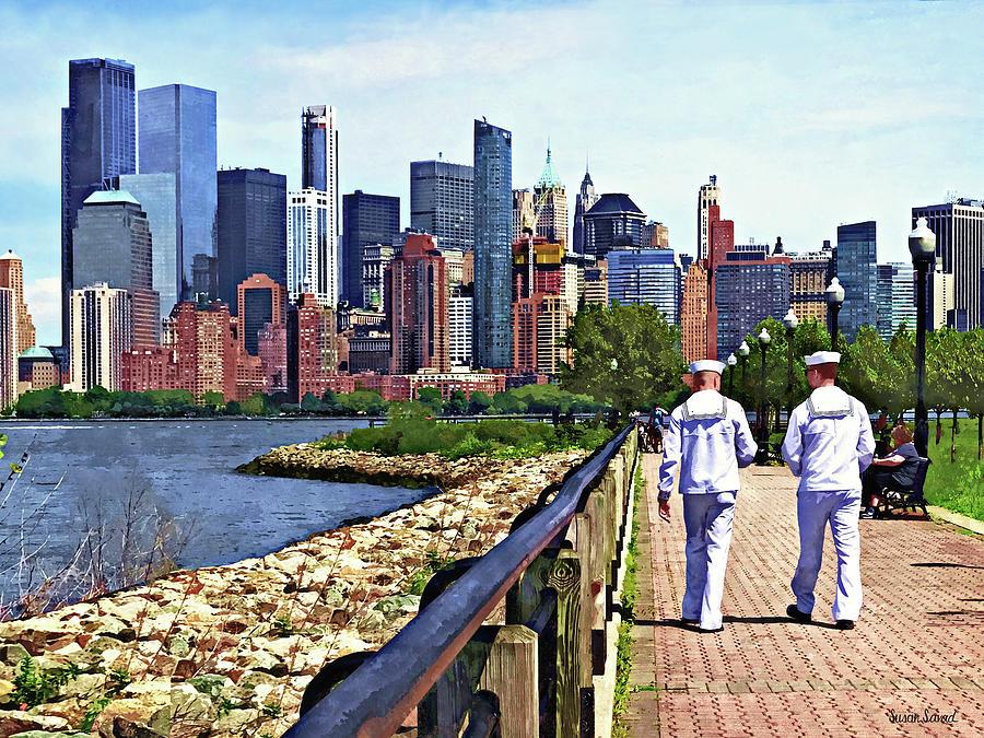 Liberty State Park Fleet Week by Susan Savad