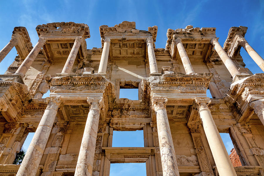 Library of Celsus by Fabrizio Troiani