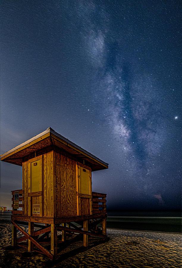 Lido Beach Milky Way by Rod Best