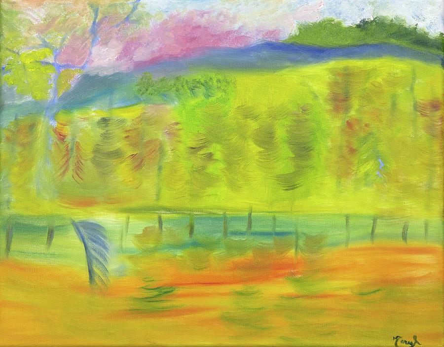 Landscape Painting - Life Breezes by Meryl Goudey
