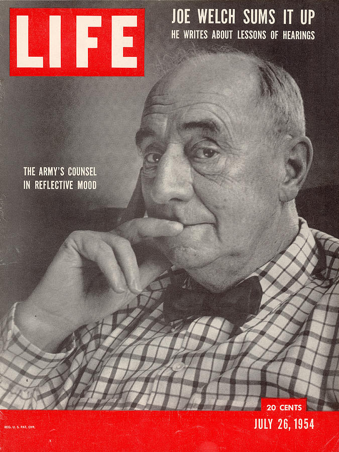 Life Cover 07-26-1954 Portrait Of Photograph by Gordon Parks