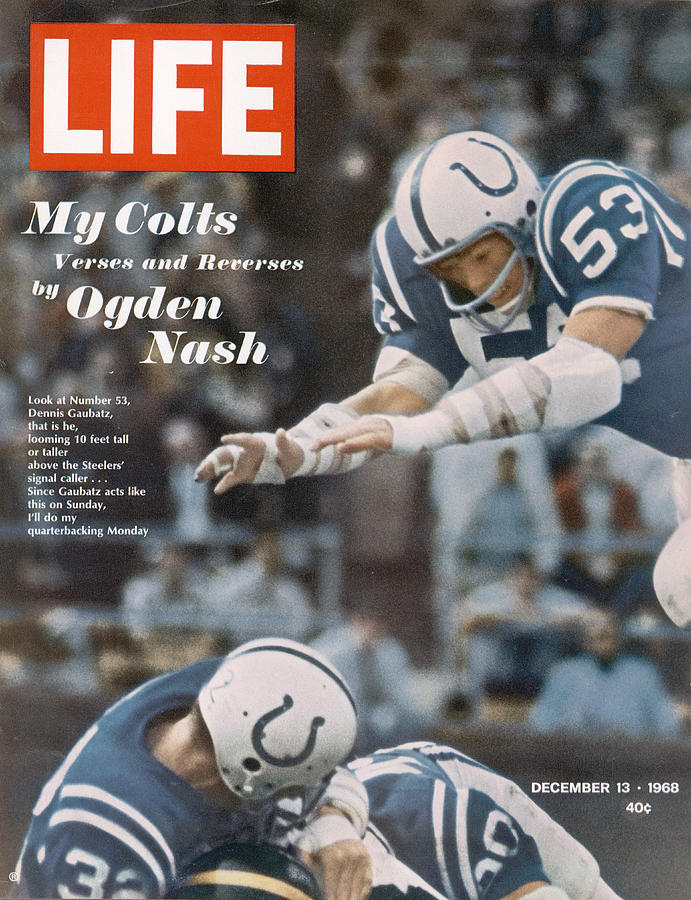 Life Magazine Cover, December 13, 1968 Photograph by Art Rickerby