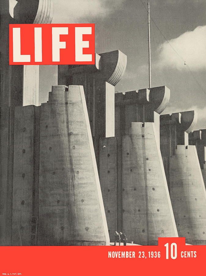 Life Magazine Cover November 23, 1936 Photograph by Margaret Bourke-white