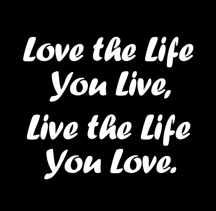 Life Quotes Motivational Quotes Minimalist Poster Black And White