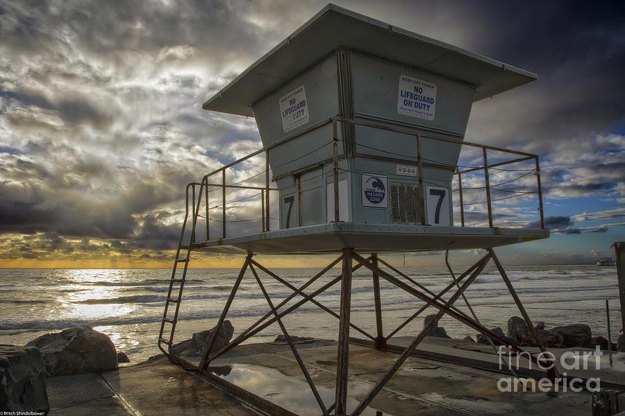 Lifeguard Station 7 by Mitch Shindelbower