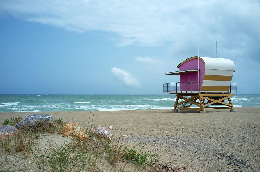 Lifeguard Station At The Sea Photograph by Ra-photos