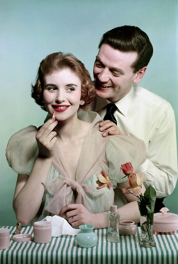 Lifestyle. Couples. Pic 1959. A Man Photograph by Popperfoto