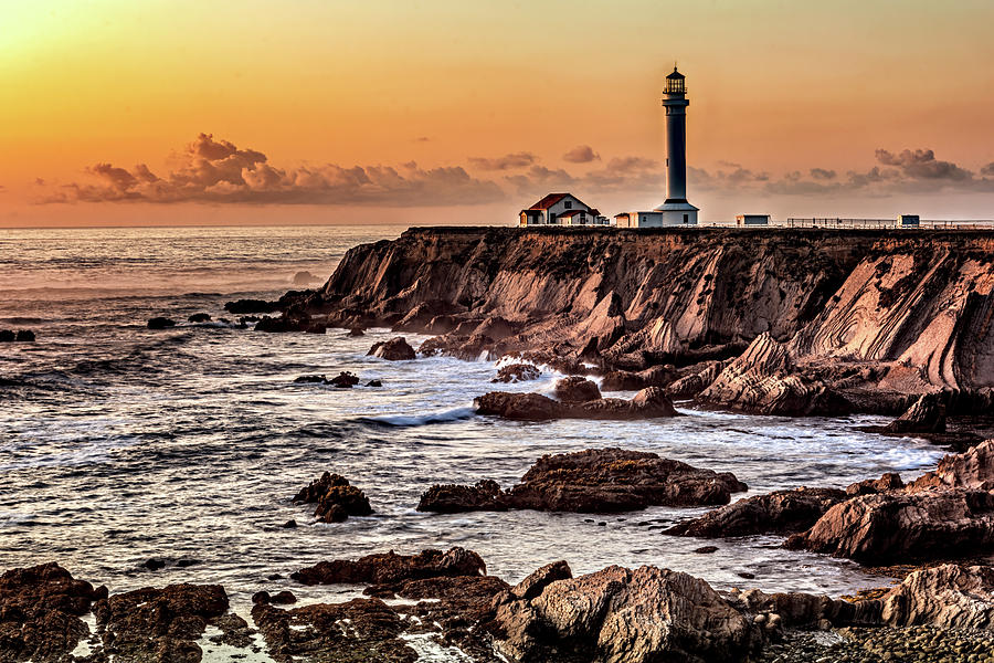 Light at Sunset by Maria Coulson