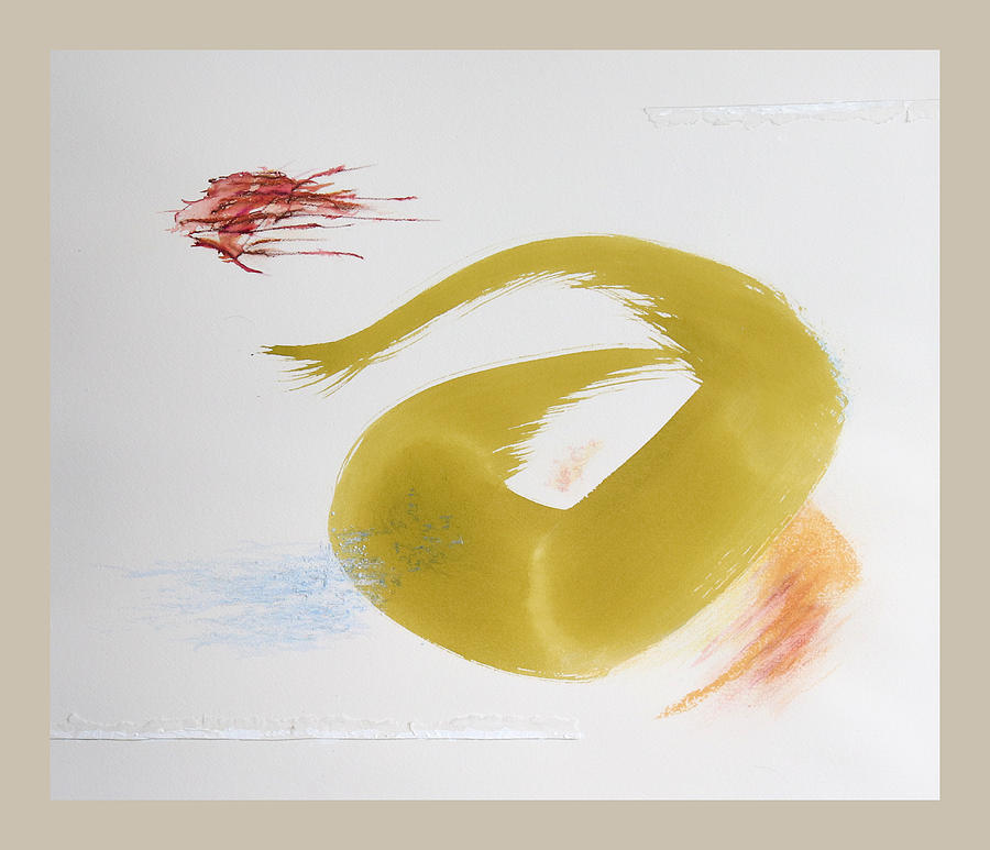 Calligraphy Mixed Media - Light-hearted by David Wilde