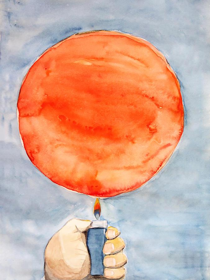 Sun Painting - Light by Keshava Shukla