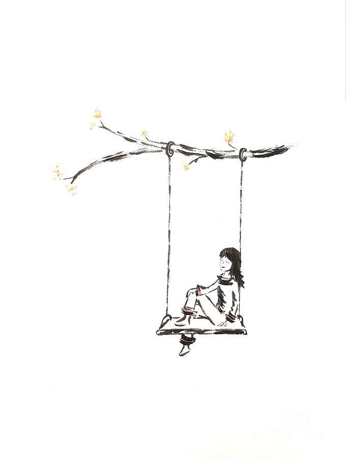 Inspiration Drawing - Light by Petra Heveroch