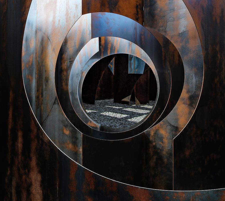 Metal Photograph - Lightdispencer I by Luc Stalmans
