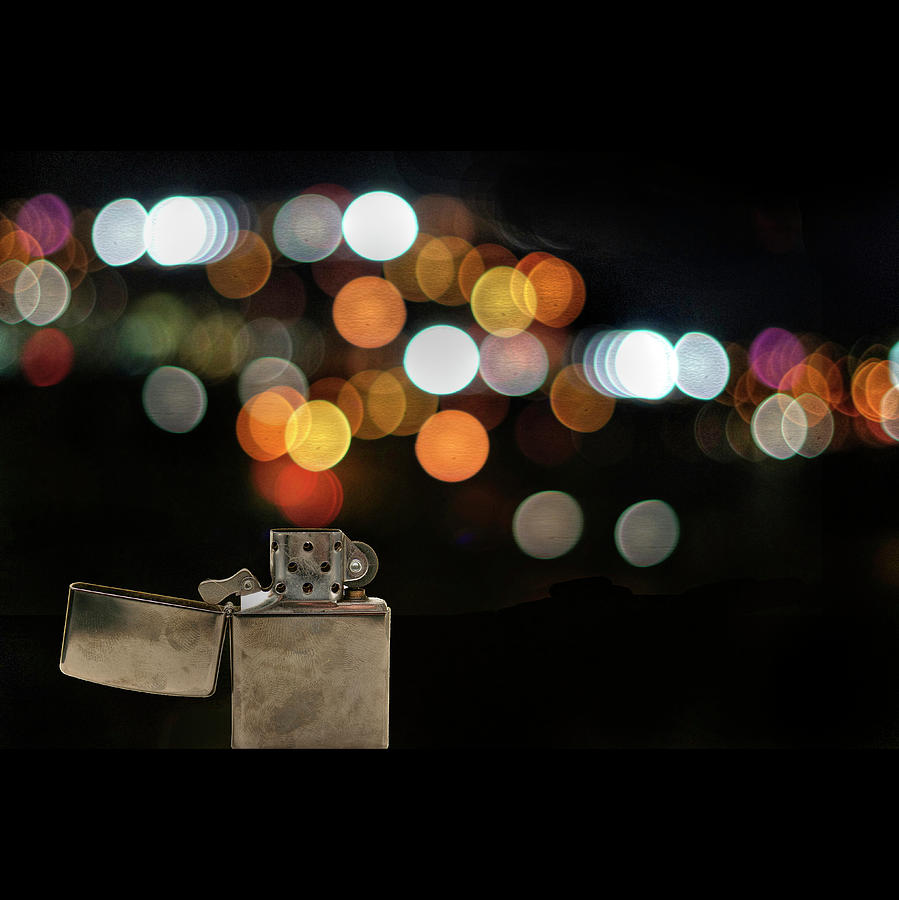 Lighter And Bokeh Photograph by Image By Darren Nunis
