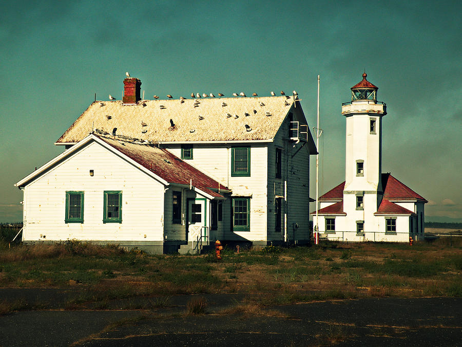 Lighthouse at Port Townsend by Micki Findlay