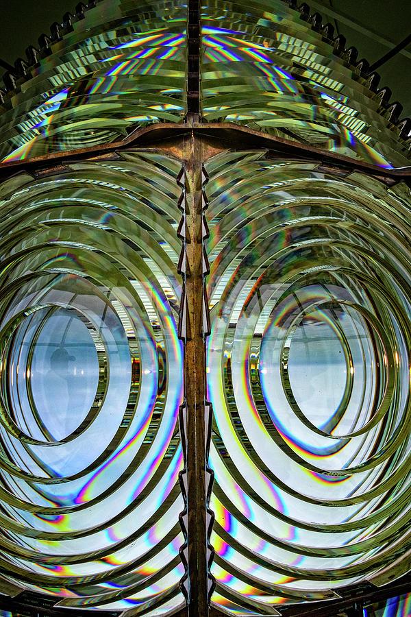 Lighthouse Fresnel Lens by Carolyn Derstine
