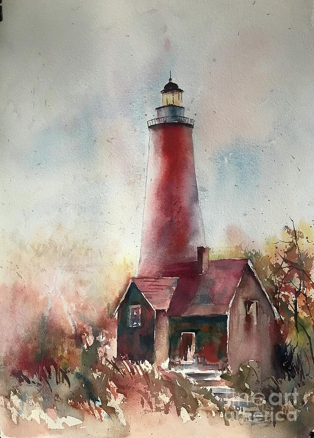 Lighthouse  by George Jacob