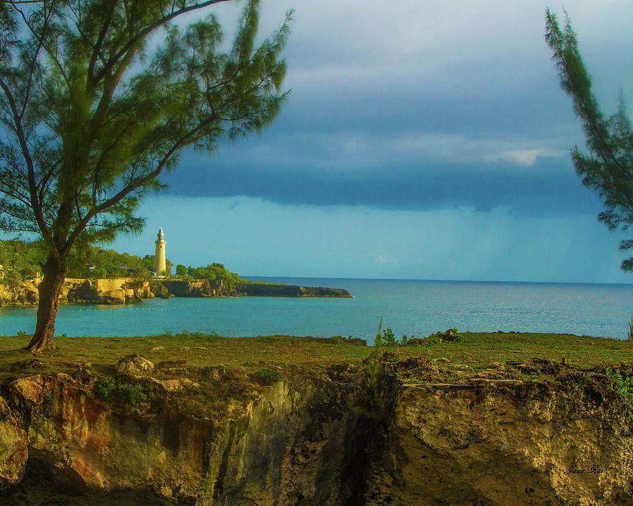 Lighthouse in Jamaica IMG5701 by Jana Rosenkranz