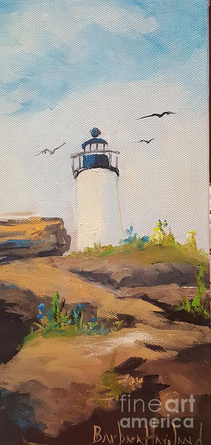 Lighthouse in Maine by Barbara Haviland