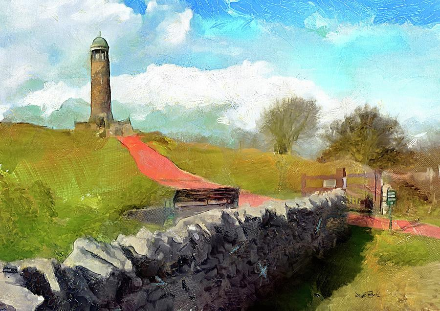 Lighthouse On The Hill by Wayne Pascall