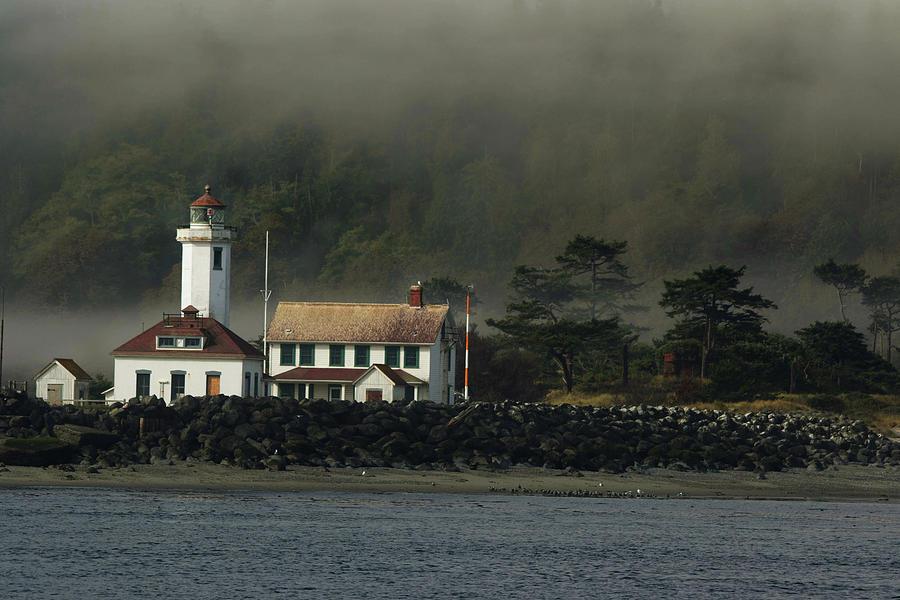 Lighthouse Photograph - Lighthouse - Port Wilson by Jeff Burgess