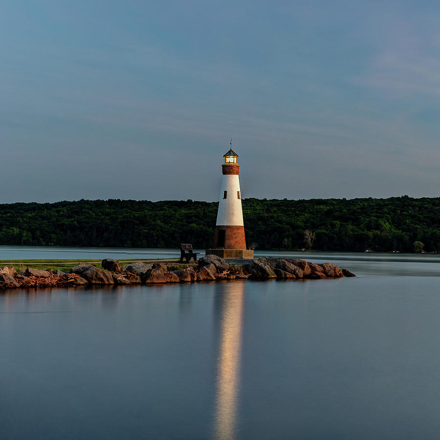 Lighthouse Reflection by Rod Best
