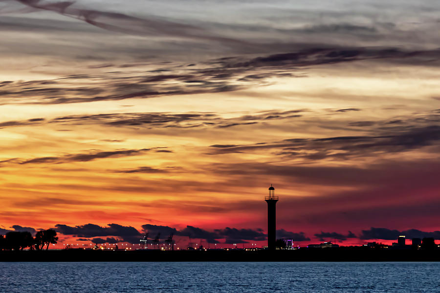 Lighthouse Silhouette  by JASawyer Imaging
