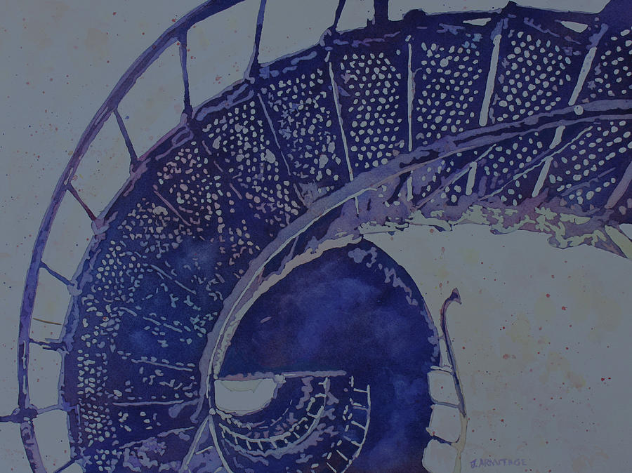 Lighthouse Stairs by Jenny Armitage