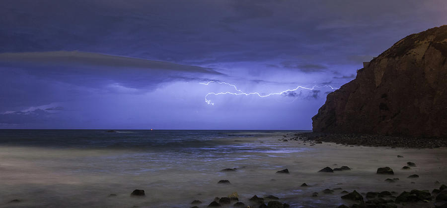 Lighting over the Headlands by Cliff Wassmann