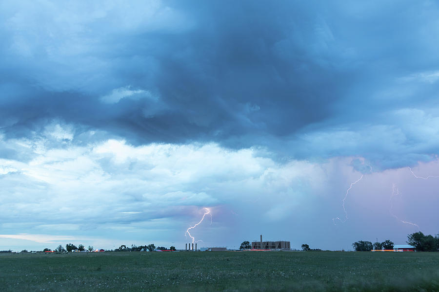 Lightning and Gas Fracking by James BO Insogna