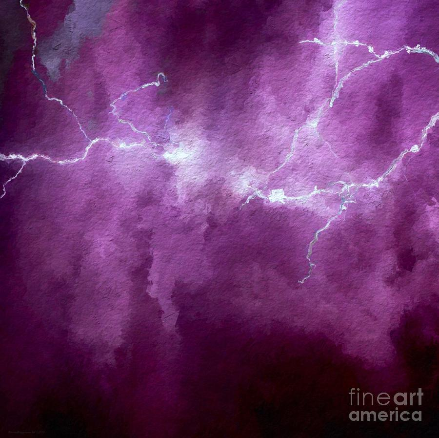 Lightning Crashes  by Breena Briggeman