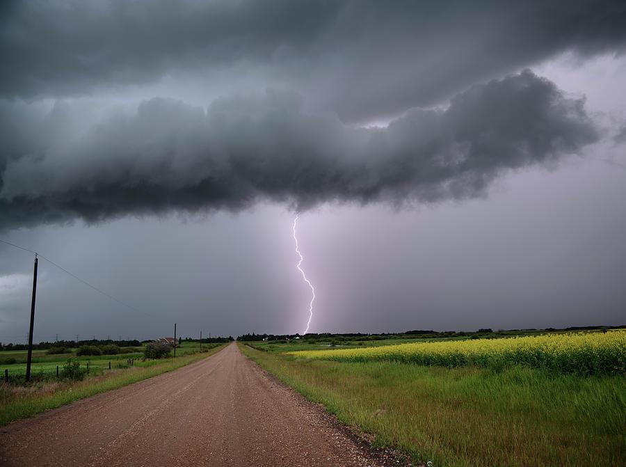 Lightning On The Way Home by Dan Jurak
