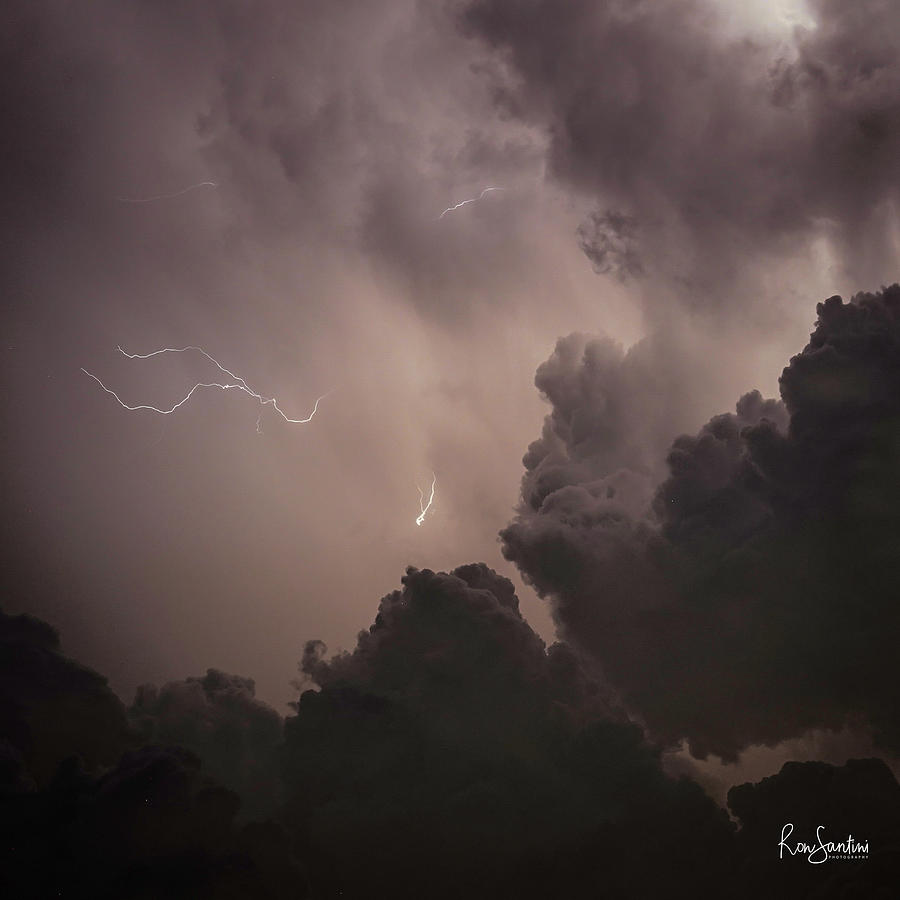 Lightning Strikes by Ronald Santini