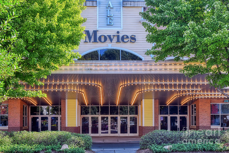 Lights and Action at Birkdale Movie Theater by Amy Dundon