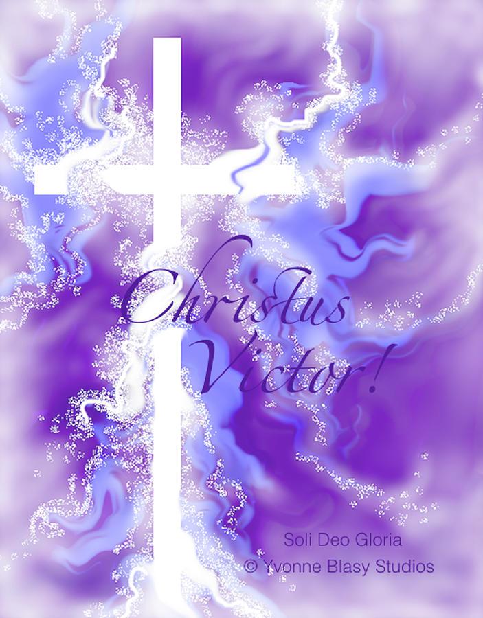 Lights For Lent Christus Victor by Yvonne Blasy