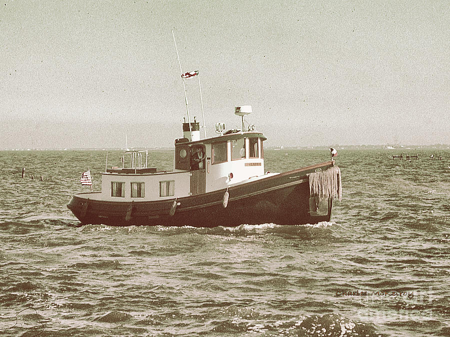 Tugboat Photograph - Lil Tugboat by Charles McKelroy