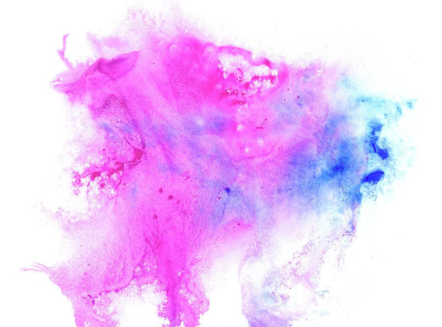Lilac Blot Digital Art by Pobytov