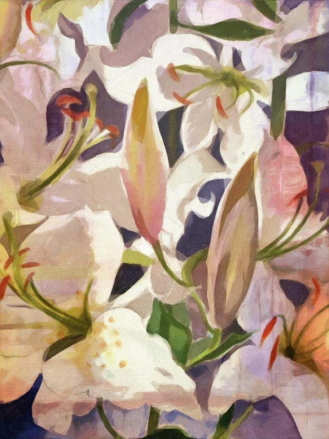 Lilies by Lutz Baar