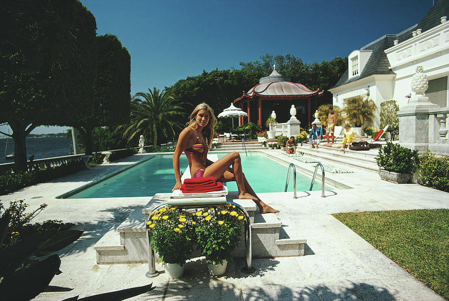 Lillian Crawford Photograph by Slim Aarons