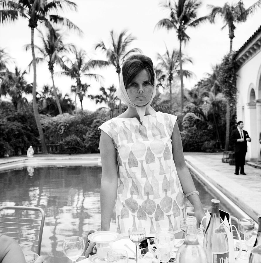 Lilly Pulitzer Photograph by Slim Aarons