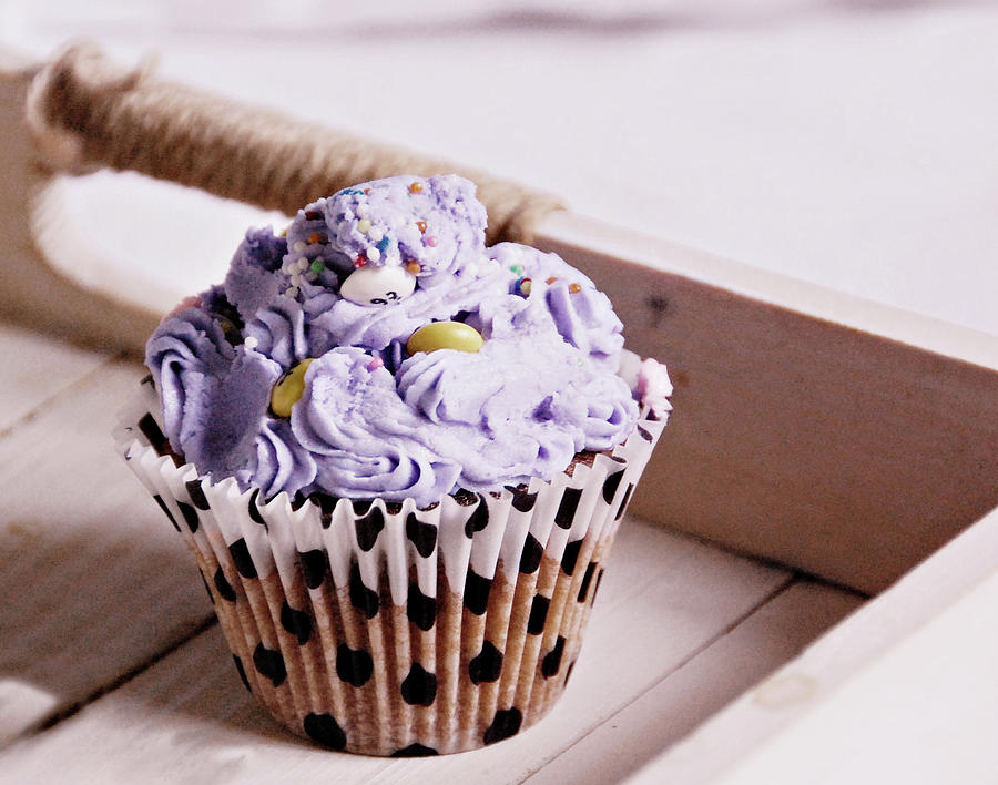 Lily Cupcake Photograph by Anna Ramon Photography