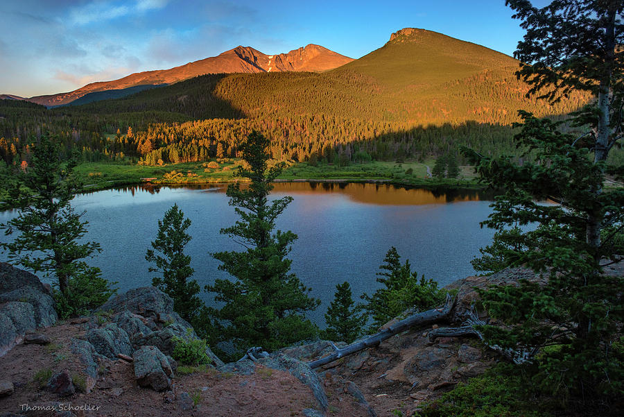 Lily Lake Overlook by T-S Fine Art Landscape Photography