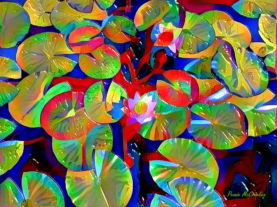 Lily Pads by Pennie McCracken