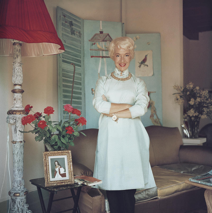 Lily Pons Photograph by Slim Aarons