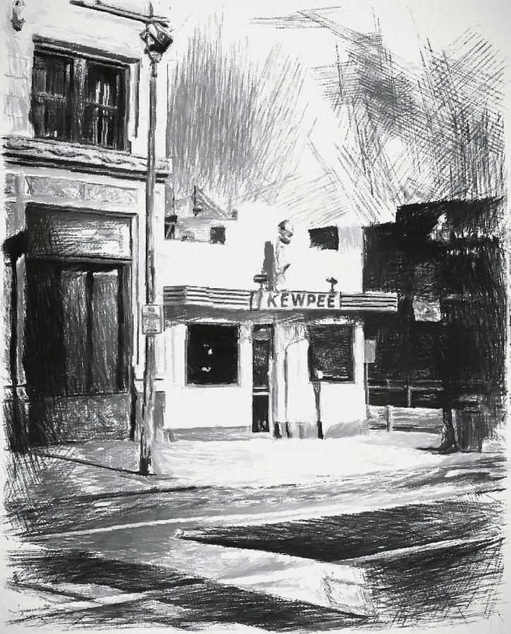 Lima Kewpee Sketch by Dan Sproul