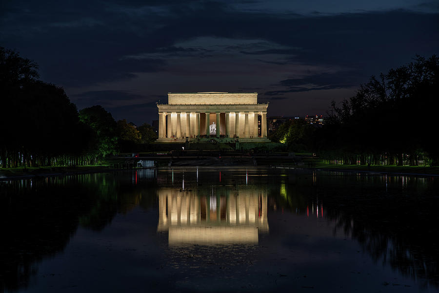 Lincoln Memorial at Twilight 1 by Lynda Fowler