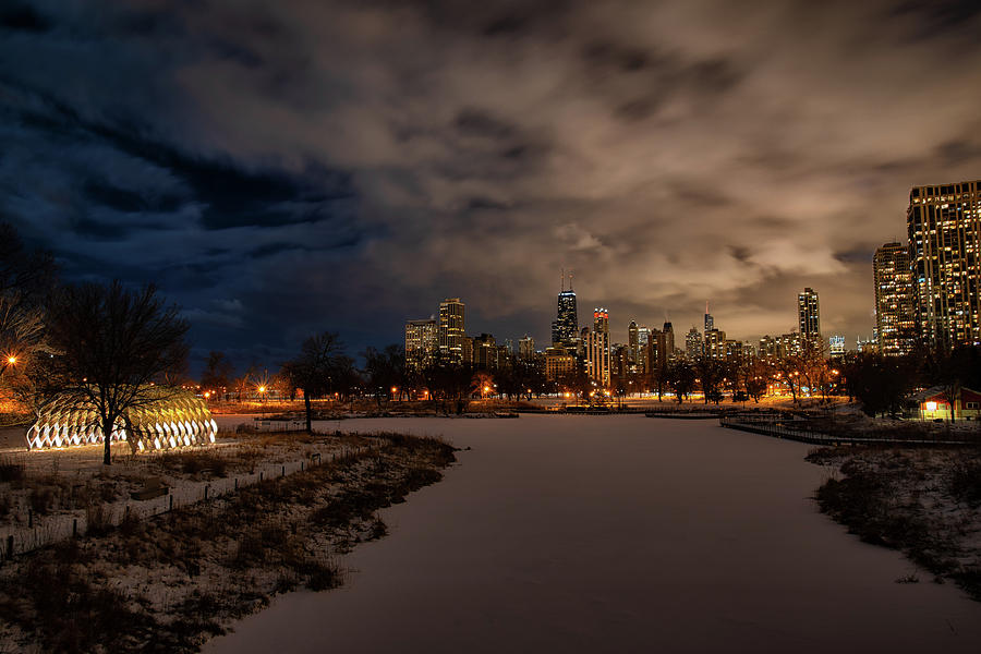 Lincoln Park Winter by Raf Winterpacht