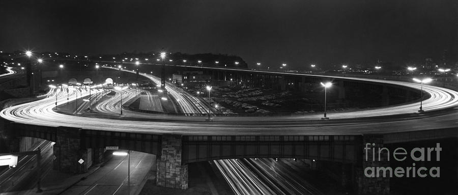 LINCOLN TUNNEL, 1959 by Granger