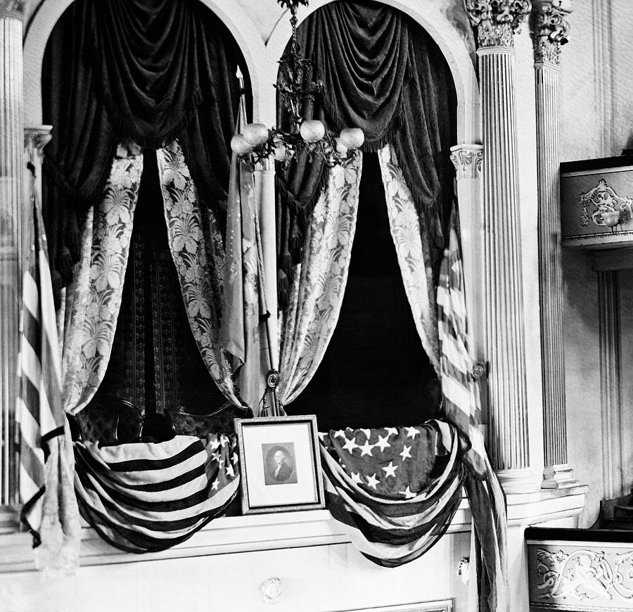 Lincoln's Box At Ford's Theater - 1865 by War Is Hell Store