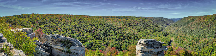 Lindy Point Overlook by Guy Whiteley