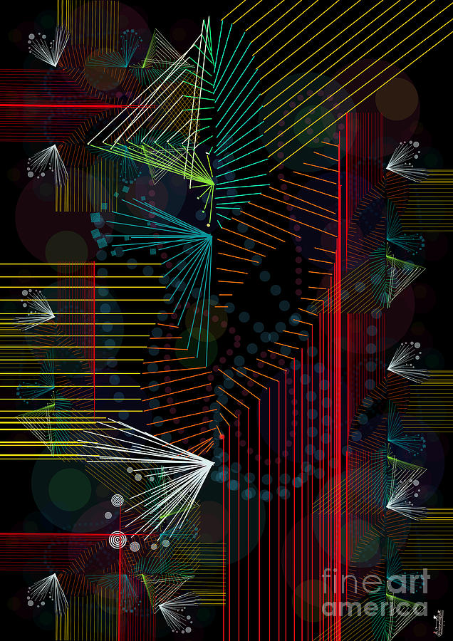 Rhythm Lines Digital Art
